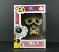 Funko Pop! Disney Wall-E #45 Soft Protector Imperfect Box See Pictures 2013