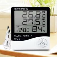 LCD Digital Thermometer Hygrometer Temperature Humidity Meter Indoor Outdoor