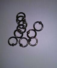 Lot 50 Piercer Pack 12g CBR Captive Bead Ring Body Piercing SSS 3/4 in Surgical