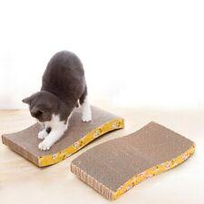 2Pack Cat Scratcher Cardboard Catnip Recycle Corrugated Cat Scratching Board Pad