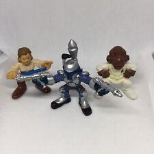 Star Wars Galactic Heroes LOT of 3. Hasbro Obiwan