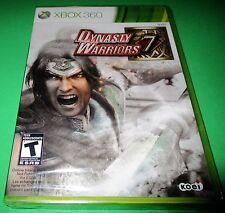 Dynasty Warriors 7 Microsoft Xbox 360 *Factory Sealed! *Free Shipping!