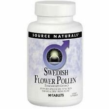 Swedish Flower Pollen, 90Tabs, Source Naturals, UK Stocks, 24Hr Dispatch,