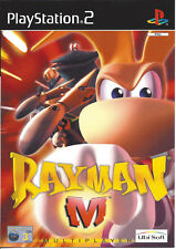 RAYMAN M for Playstation 2 PS2 - with box & manual - PAL