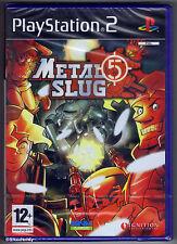 PS2 Metal Slug 5 (2006), Spanish Version, UK Pal, New & Sony Factory Sealed