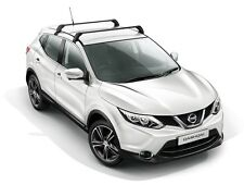 Nissan Qashqai 2014 Steel Roof Bars Load Carrier New + Genuine KE7304E500