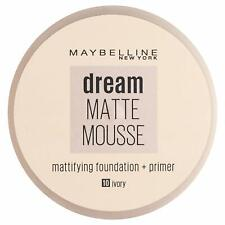IVORY 10 Maybelline Dream Matte Mousse Mattifying Foundation + Primer