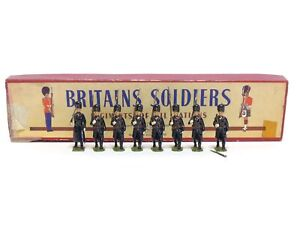 Britains 2009 Belgian Grenadiers Review Order Greatcoats Marching At The Slope