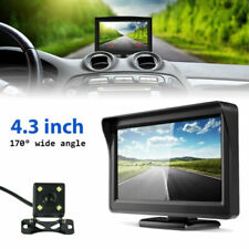 "4.3"" TFT LCD Car Rear View Backup Monitor+HD Color Parking Night Vision Camera"