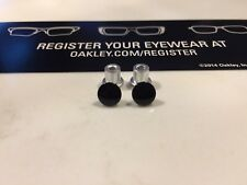 New Oakley GENUINE Jawbone/Racing Jacket/Split Jacket Polished Black Thru Bolts