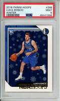 2018-19 Hoops Winter #268 Luka Doncic PSA 9 RC Rookie