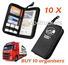 Truck HGV Digital tachograph holder 10 x organiser tacho organizer truck wallet
