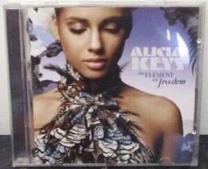 ALICIA KEYS - The Element Of Freedom ~ CD ALBUM