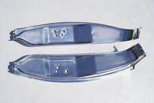 Bmw e24 630 CS 633 635 CSI cromo cubierta de aluminio B-pilar R + l b-pillar Chrome cover