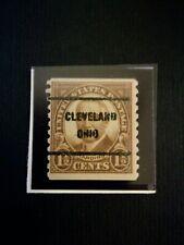 USA Stamp  nuovo 1930 Harding  prestampato Cleveland raro bobbina