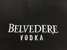 Belvedere Vodka Kellner Schürze + Tasche Schwarz NEU OVP Bar Bistro Grillschürze