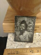 Beautiful African american female photobooth photo