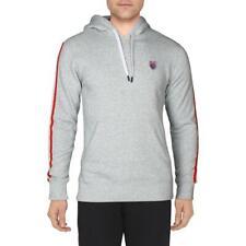 K-Swiss лента мужские флисовой подкладке с логотипом отделкой Activewear образ жизни пуловер толстовка