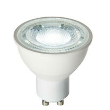 New Saxby 7W / GU10 LED SMD Dimmable Lamp / Daylight White 6500 K / 600 Lumens