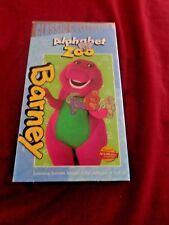 VHS TAPES - BARNEY ALPHABET ZOO - CLASSIC COLLECTION - GOOD CONDITION