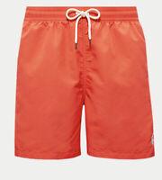 """Polo Ralph Lauren Men's 5.5"""" Traveler Swim Trunks SZ XL $59 Lt Red ( ORANGE) ✨"""