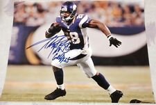 ADRIAN PETERSON SIGNED AUTOGRAPH NFL VIKINGS RARE STAR ACTION 11X14 PHOTO COA