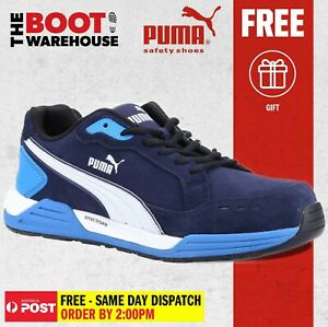 Puma AIRTWIST BLUE 644627 - Light Weight, Metal Free Safety Shoe / Jogger.
