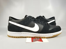 Nike Dunk SB Zoom Low Pro BLACK WHITE GUM BOTTOM SOLE HIGH OG 854866-019 sz 7.5