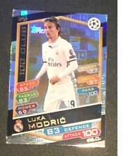 Match Attax Champions League 2016/2017 Luka Modric 100 club card