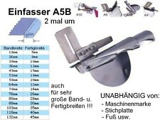 Einfasser A5B Schrägband 80 zu 28 mm UNIVERSELL passend