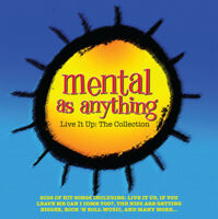 Mental As Anything : Live It Up: The Collection CD 2 discs (2016) ***NEW***
