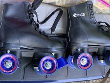 Chicago Skates Black Pink Wheels Youth Size 12
