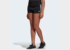 Pantalones Cortos adidas Mujer Shorts DV2555 3 Stripes Negro Blanco