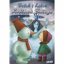 Bolek i Lolek:- KRÓLOWA ŚNIEGU (DVD)  bajki, POLSKI POLISH