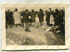 Foto, Wehrmacht, Bevölkerung auf dem Basar in Nikolajew, Ukraine, b 20322