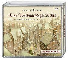 CHARLES DICKENS - EINE WEIHNACHTSGESCHICHTE (2016) 3 CD NEU