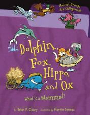 Dolphin Fox Hippo and Ox What Is a Mammal Animal Groups Are Cat