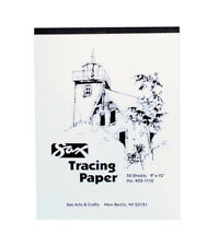 Sax Tracing Paper Pad, 25 lb, 19 X 24 in, 50 Sheets, White, Pack of 50
