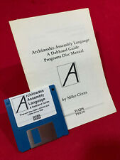 Archimedes Assembly Language Programs instructions & disc for Acorn