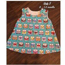 Camper Vans Blue Dress 💕 Lady J 💕 Age 6-12 Mths