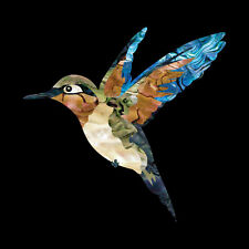 Humming Bird Abalone Inlay Sticker Decal For Guitar & Bass Ukulele