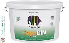 CAPAROL capadin dispersione interni, Diffusion capace, solventi libero Bianco 12,5 L