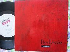 Peter Gabriel – Red Rain Virgin Records – PGS 4 UK Vinyl 7 inch Single