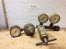 Vintage Airco Oxygen Regulator 8410028 & 8410093 and Ashcroft Regulator Bundle 2