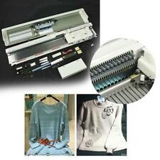 Stainless Steel 9mm Gauge 3-Needle Pre-punched Card Electronic Knitting Machine