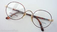 Valentino luxuriöse Markenbrille ovale Glasform Acetatbügel in Hornoptik size M