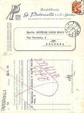 Gorizia cedola commissione libraria CARTOLERIA PATERNOLLI anno 1964 (L-L 057)