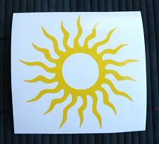 adesivo SOLE sticker decal vynil vinile SUN auto moto car helmet estate summer