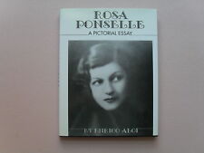 Rosa Ponselle by Enrico Aloi - Inscribed/Signed by Aloi to George Jellinek -1st
