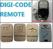 Digicode Digi-Code 300MHz DC5070 digi code small Garage Door Remote Control